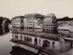 Gopal Bhawan, Deeg, from the West